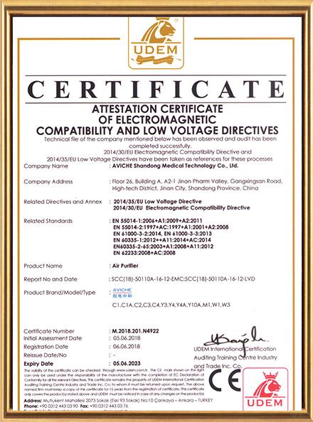 CE- Air Purifier