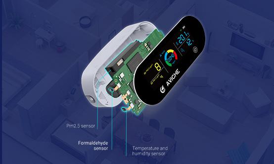 Three high accurate sensors