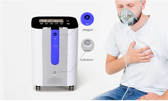 Use oxygen & nebulization together