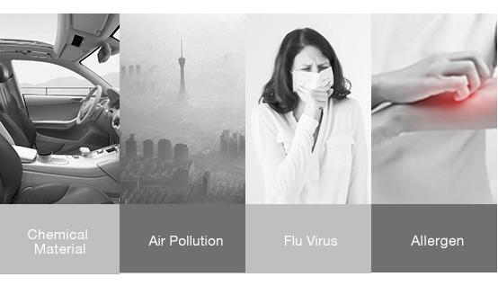 BREATHE CLEANER SAFER AIR
